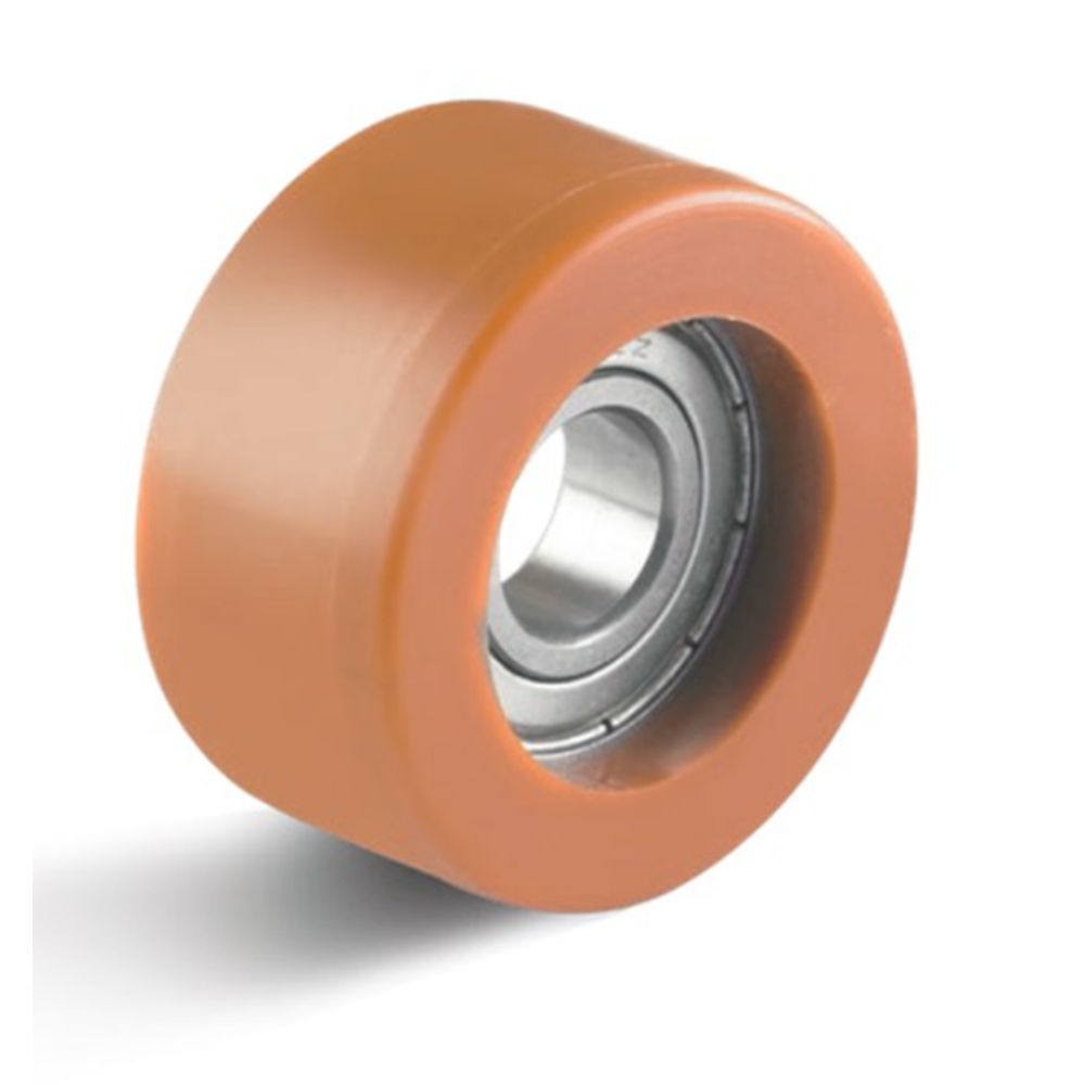Orange Polyurethane Guide Rollers