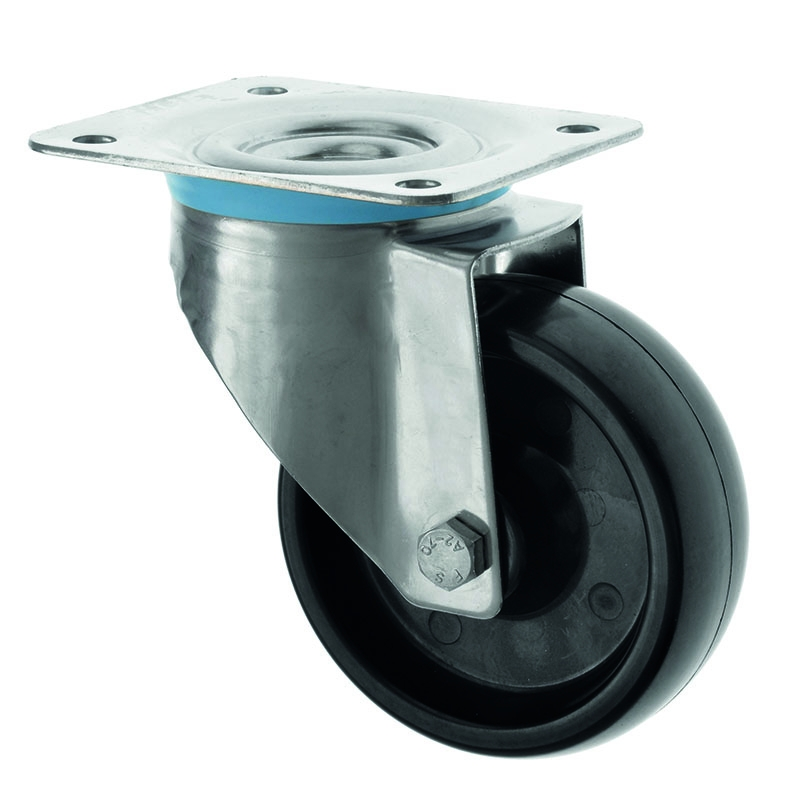Stainless Steel Castors High Temp SS Series Medium Duty