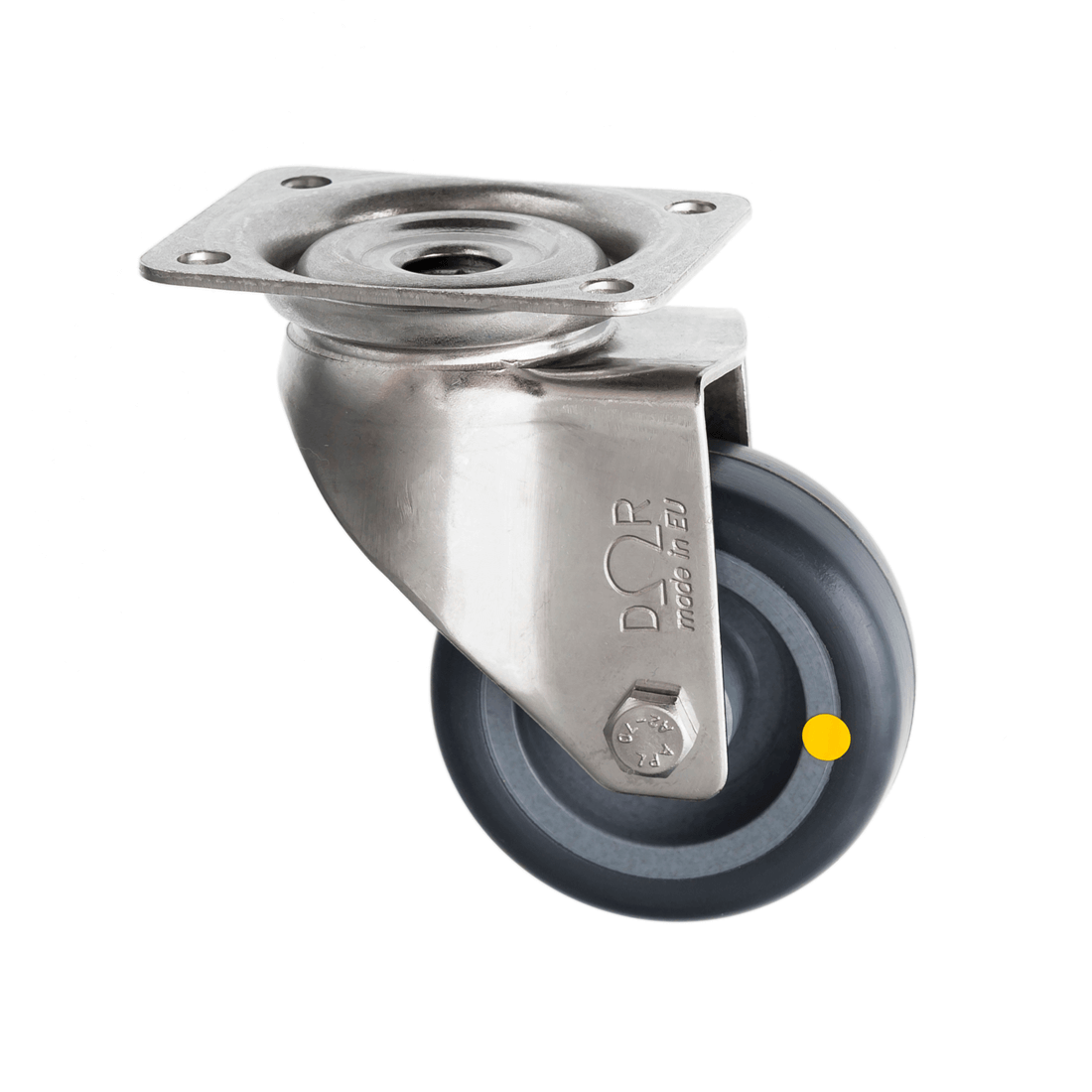 Stainless Steel Castors Anti Static Rubber Wheel SSL Series