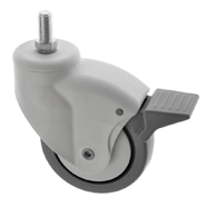 Slimline Medical Castors Stem Fitting ES Series