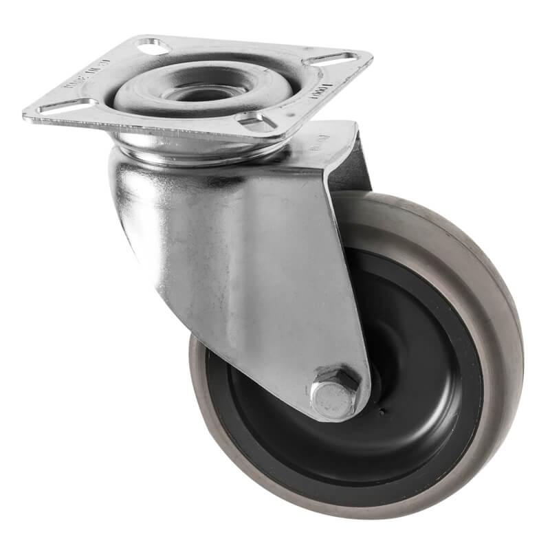 Small Castors Rubber Wheel 314 Series