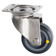 Stainless Steel Anti Static Castors Rubber Wheel SSL Series