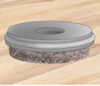 Ultrasoft Inserts for Sensitive Flooring