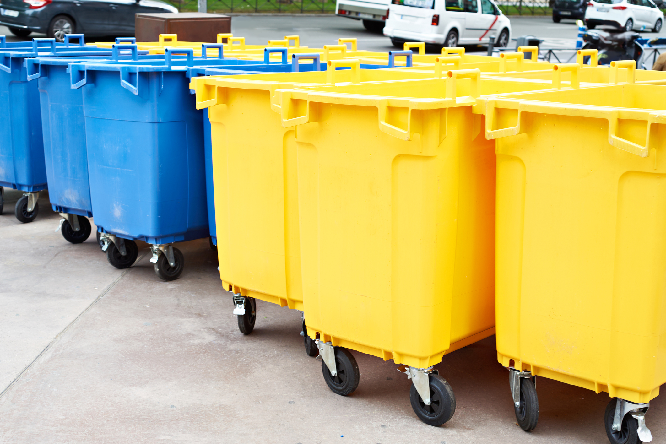 Waste Disposal Castors and Skip Wheels