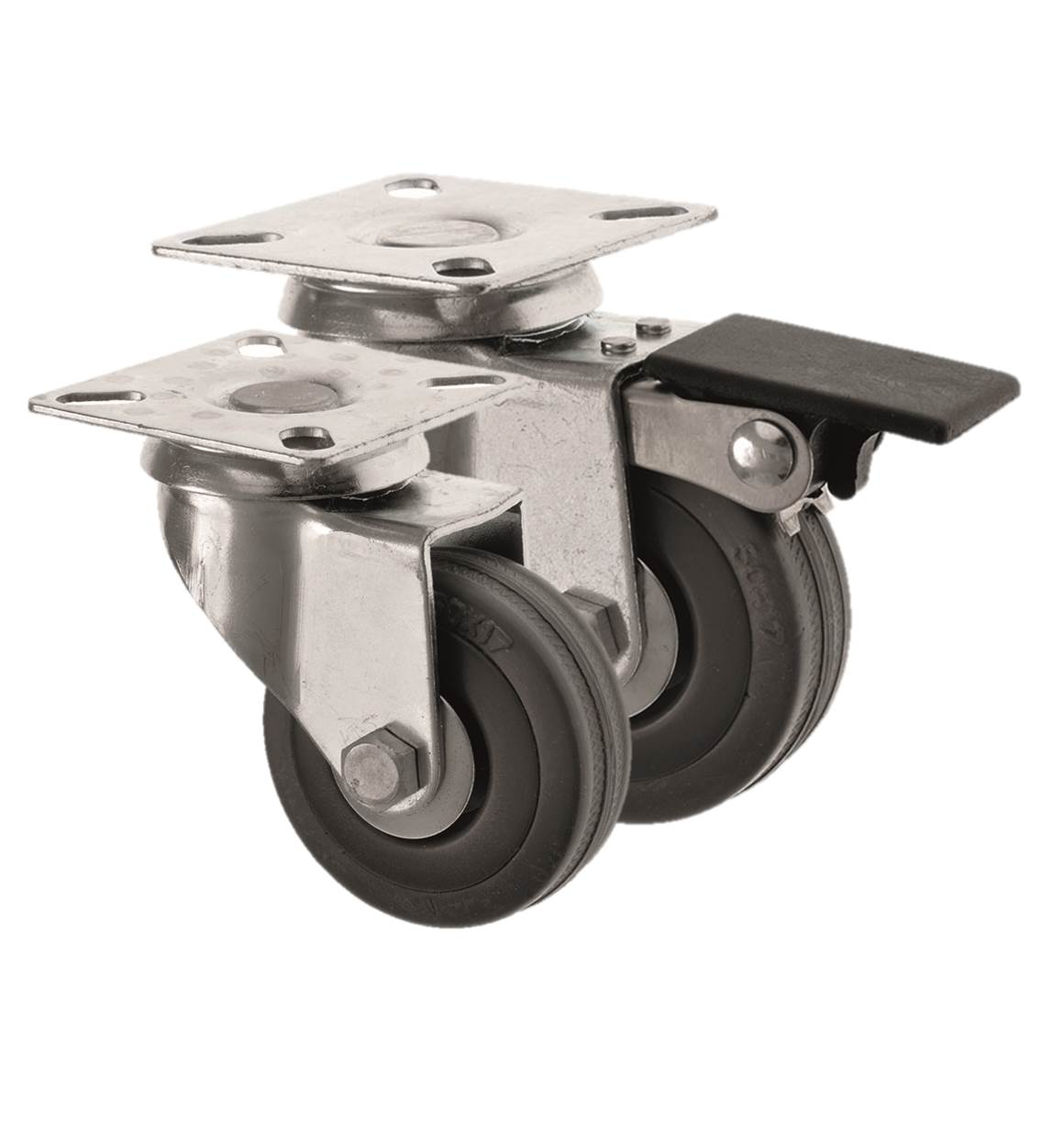 Castors Rubber Wheel FS Series