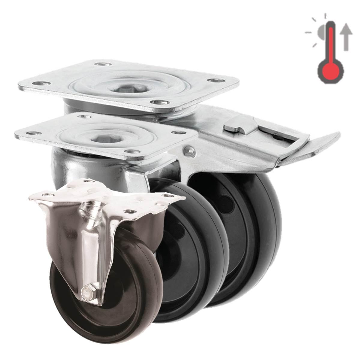 High Temperature Castors Phenolic Resin Wheel 3360 Series