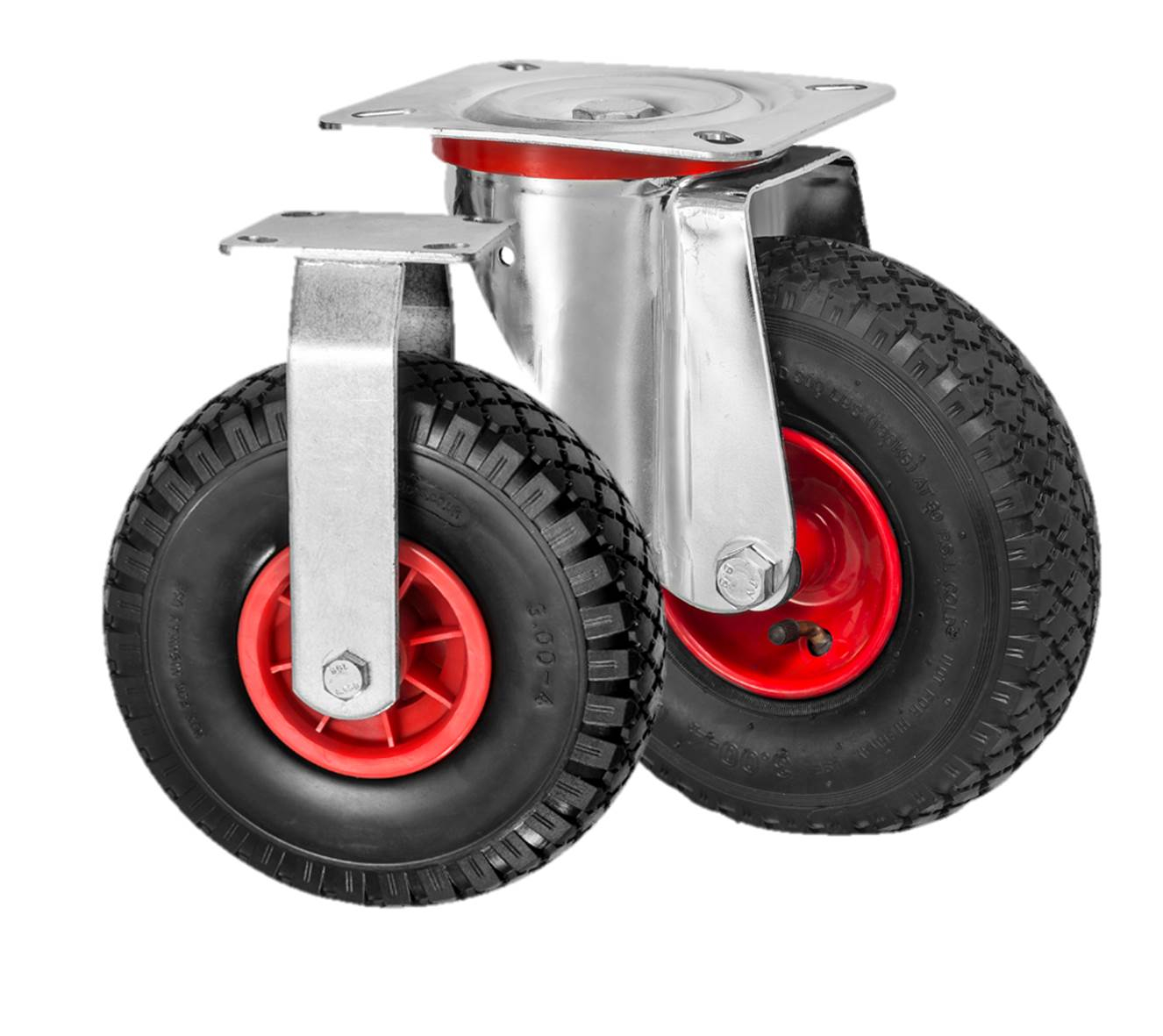 Pneumatic Castor Wheels
