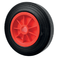 Solid Rubber Trolley Wheels