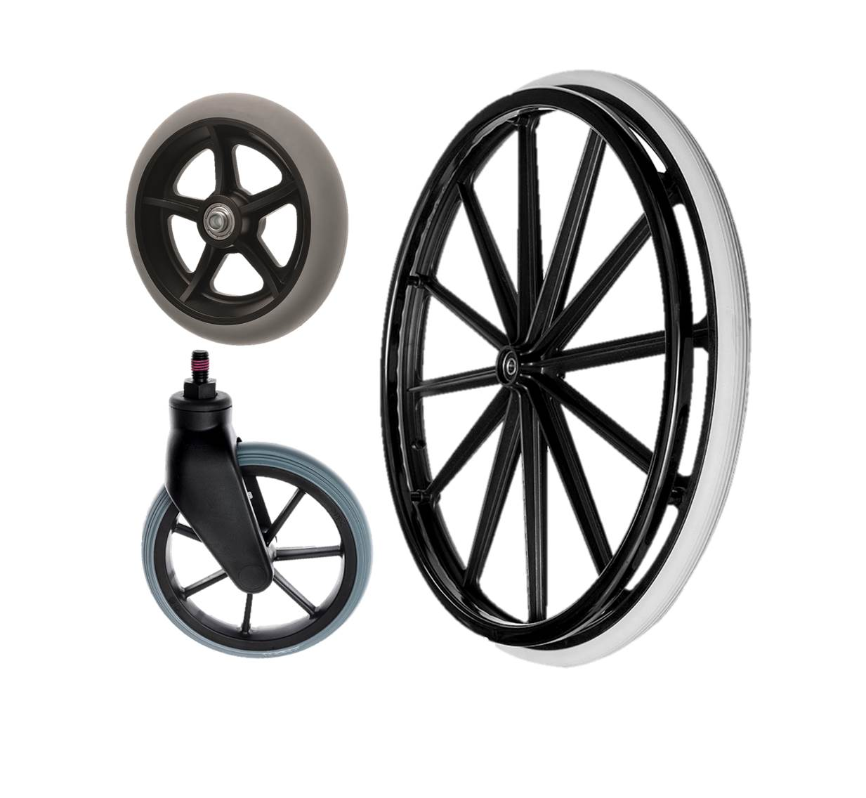 Wheelchair Wheels & Castors