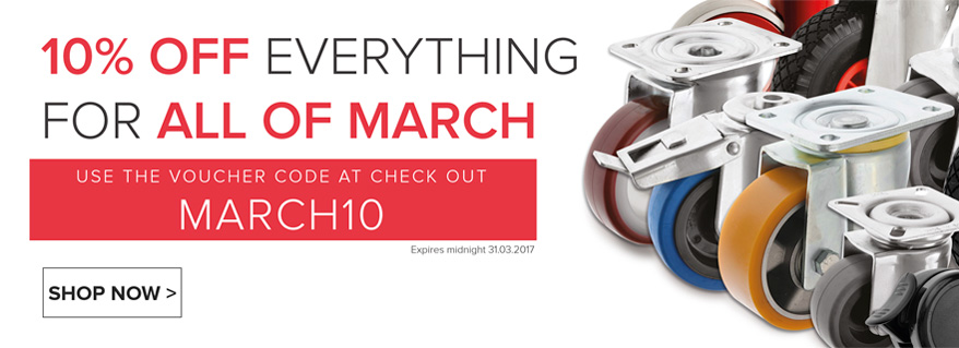 10 Off Everything In March