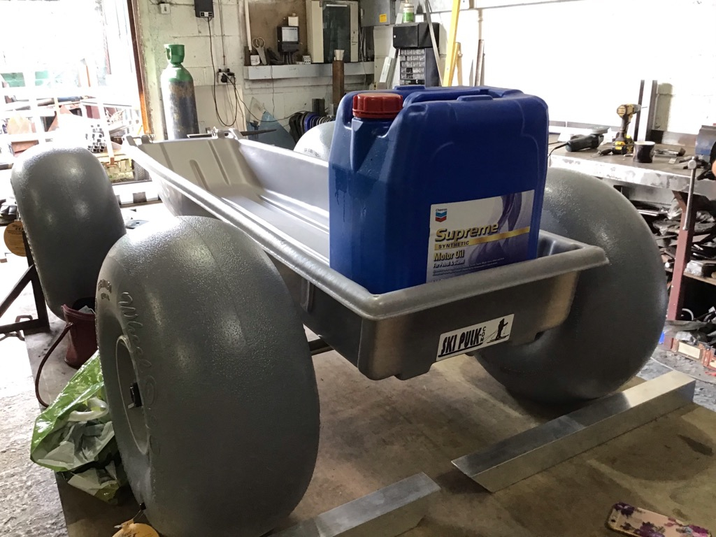 Desert cart finished